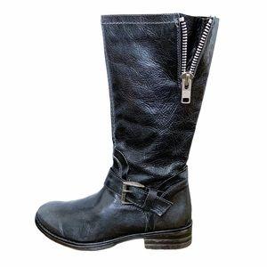 Bed Stu Size 6 Token Teak Boots Moto Charcoal Gray